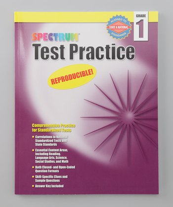 Spectrum Test Practice Grade 1 Workbook Paperback