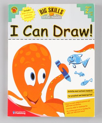 Big Skills for Little Hands: I Can Draw! Paperback