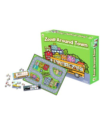 Zoom Around Town Board Game