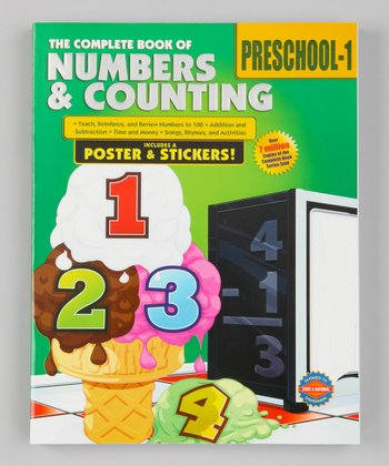 The Complete Book of Numbers & Counting Paperback