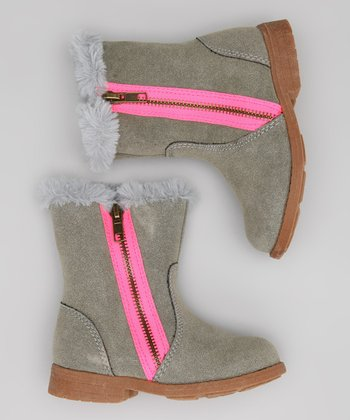 Carter's Gray Amy-C Boot