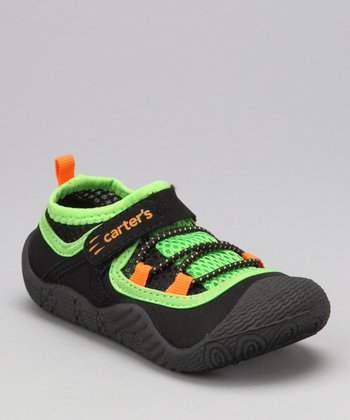 Black & Green Assaulb Water Shoe
