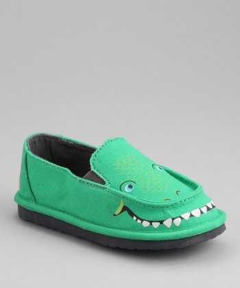 Green Alligator Jayro Slip-On Loafer
