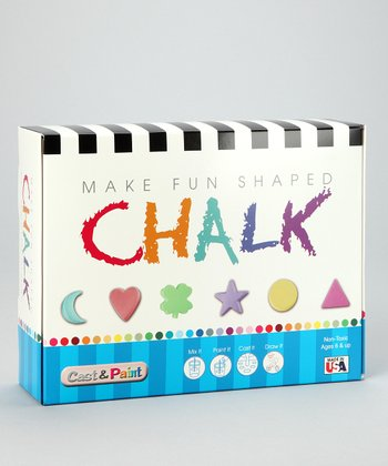 Shapes Chalk Casting Kit