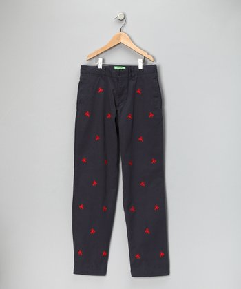 Nantucket Navy Lobster Port Pants - Toddler & Boys