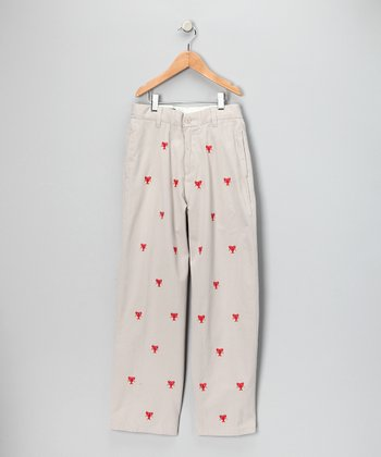 Stone Lobster Port Pants - Toddler & Boys