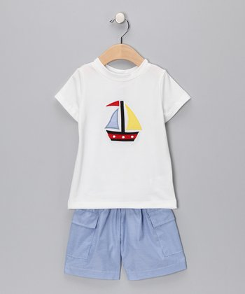 Sailboat Tee & Shorts - Infant, Toddler & Boys
