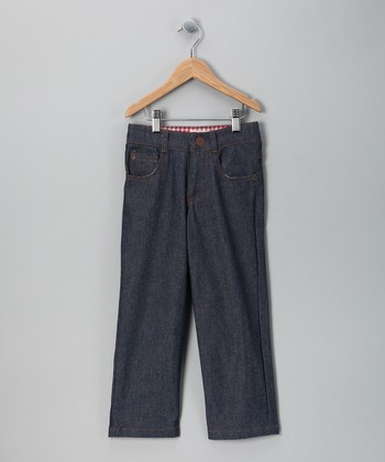 Denim Jack's Jammin' Linen-Blend Jeans - Toddler