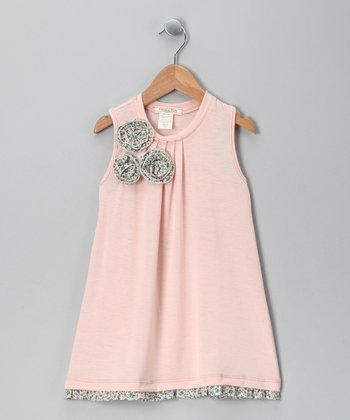Blush Blossom Dress - Toddler