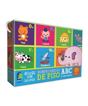 Ceaco Spanish Animal Alphabet Floor Puzzle