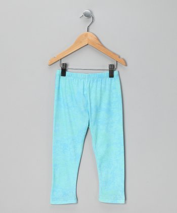 Aqua Leggings - Infant & Toddler