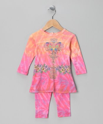 Rainbow Bright Butterfly Tunic & Leggings - Infant