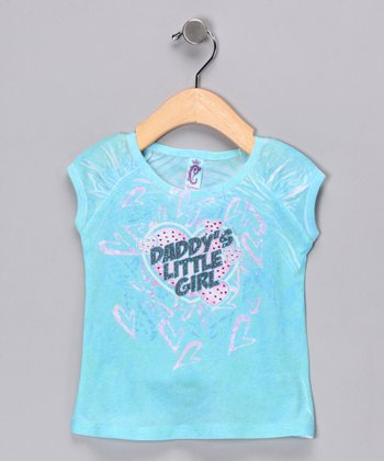 Blue 'Daddy's Little Girl' Tee - Infant & Toddler