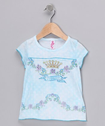 Teal Princess Tee - Infant