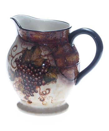 Grape Bunch 3.5-Qt. Pitcher