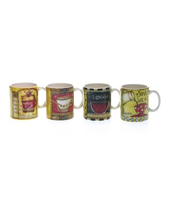 Coffee Art Mug Set