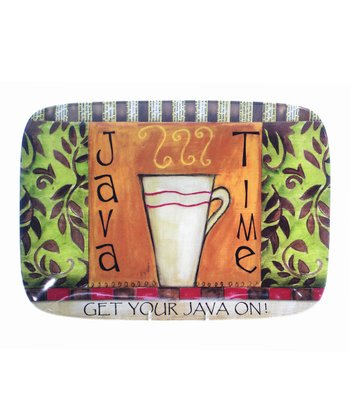 'Java Time' Serving Platter
