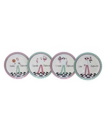 Certified International 'Chefanista' 8.75'' Dessert Plate Set