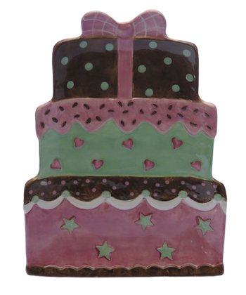 Certified International Tiered Cake 14.5'' Platter