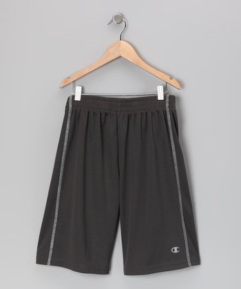Charcoal Double Dry Performance Shorts