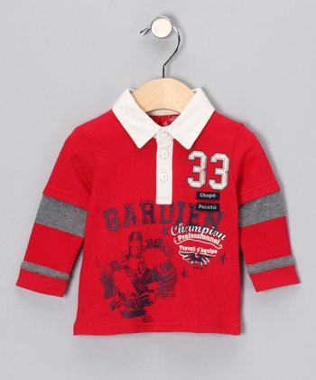 Red Formula One Polo - Infant