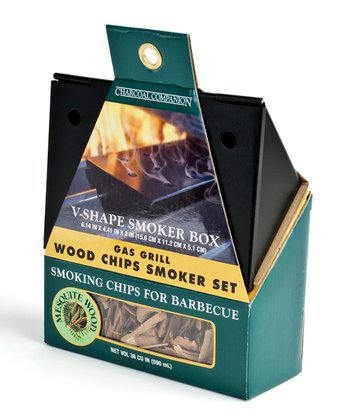 Nonstick Gas Grill Mesquite Smoker Box