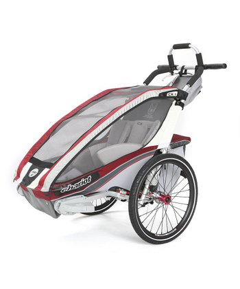 Burgundy Elite Performer Single-Child Chassis