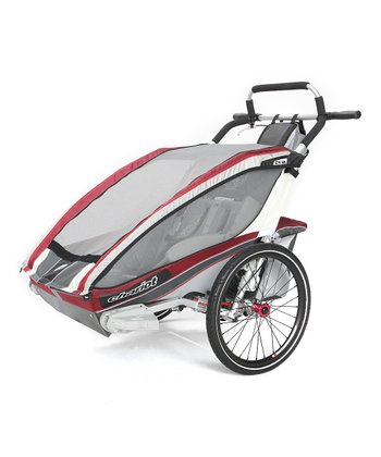Burgundy Elite Performer Two-Child Chassis