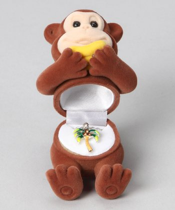 Brown Monkey Box & Necklace