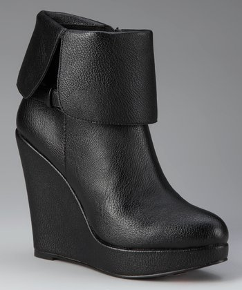 Charles by Charles David Black Zeppelin II Wedge Boot