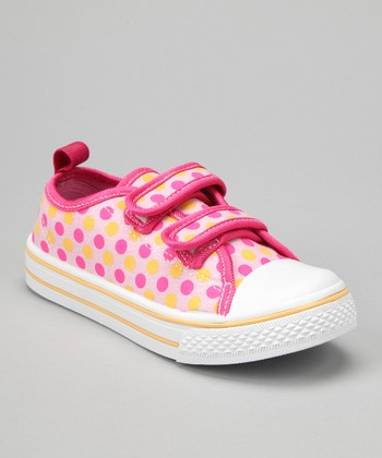 Light Pink Polka Dot Sneaker