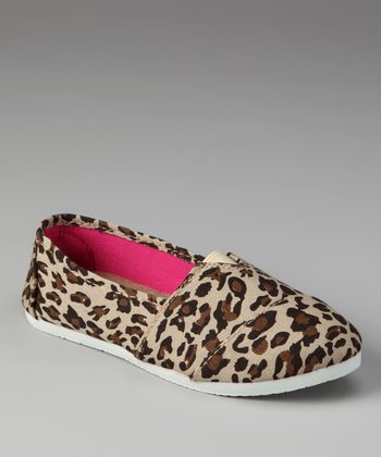 Leopard Slip-On Shoe