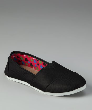 Black Slip-On Shoe