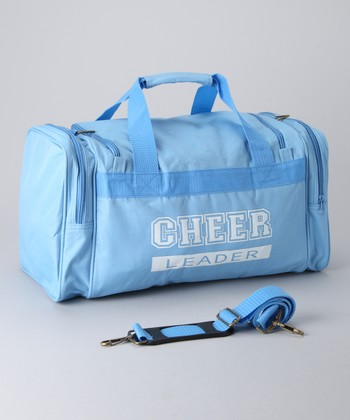 Columbia Blue & White 'Cheerleader' Duffel Bag