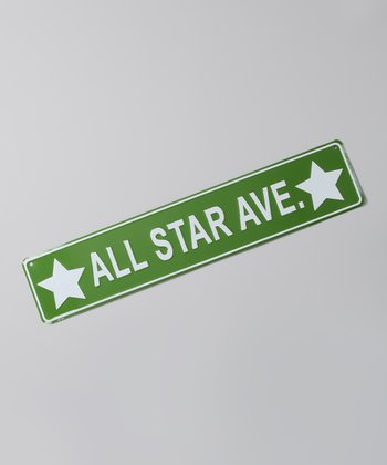 Green 'All Star' Street Sign