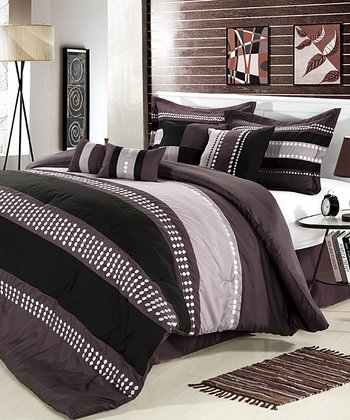 Plum June Comforter Set