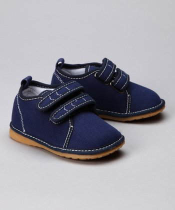 Navy Squeaker Shoe