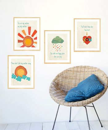 You Are My Sunshine Print Set