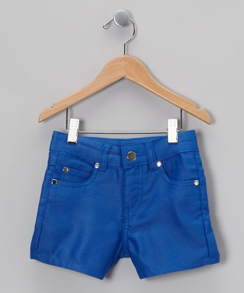 Cobalt Snug Shorts - Girls