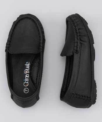 Black Driving Loafer