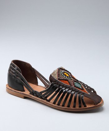 Dark Brown Nandi Sandal