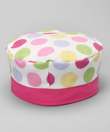 French Pink Spatter Fruiti Tutti Hat