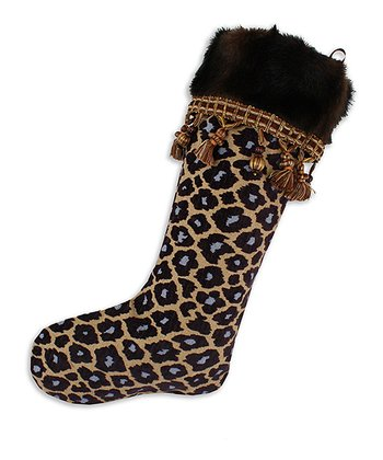 Taupe Fur Simba Taline Stocking