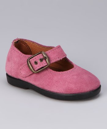 Mauve Buckle Mary Jane
