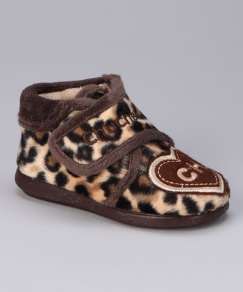 Brown Leopard Shoe