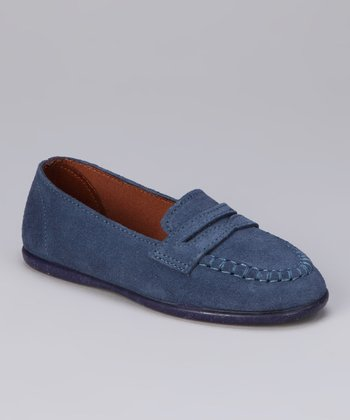 Denim Blue Loafer