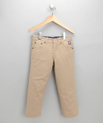 Khaki Twill Pants - Toddler & Boys