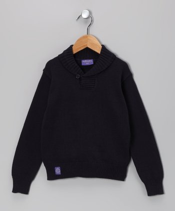 Navy Sweater - Toddler & Boys