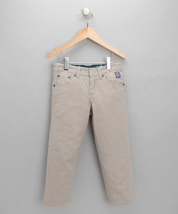 Tan Twill Pants - Toddler & Boys