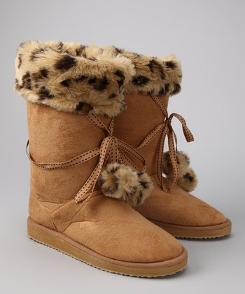 Brown Mishka Indoor/Outdoor Boot